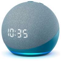 Amazon Smart Speaker Echo Dot Alexa com Relógio - 4ª Geração  Complete qualquer ambiente com a Alexa. Nosso smart speaker de maior sucesso tem um des