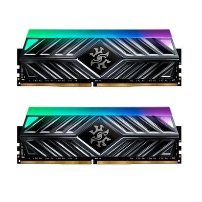 Módulo de memória XPG SPECTRIX D41 DDR4 A memória XPG SPECTRIX D41 DDR4 RGB reúne excelente desempenho e hipnotizante iluminação RGB para dar a você u