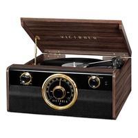 Toca Discos Victrola Metropolitan Bluetooth Rádio FM Nosso gravador Vitrola Bluetooth combina um toque tradicional com um estilo moderno. Transmita su