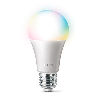 Smart Color A Lâmpada Inteligente da Elgin Lâmpada compatível com Wi-Fi através do aplicativo ELGIN SMART. Com ela, você cria o seu próprio ambiente e