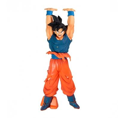 Action Figure Dragon Ball Super - Son Goku Esta figura especial do Dragon Ball Super Give Me Energy Spirit Bomb apresenta Goku e tem 23 centímetros de