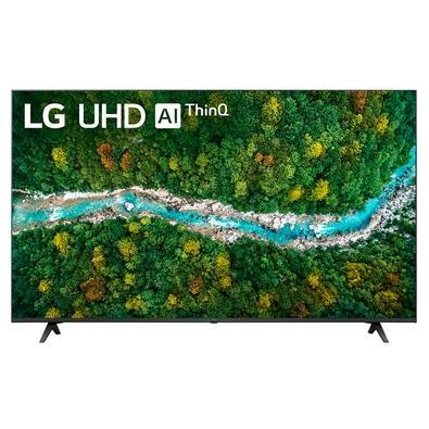 """Smart TV LG 60"""" Real 4K UHD Imersão Surreal. As TVs LG UHD sempre superam as expectativas. Experimente qualidade de imagem realista e cores vivas com"""