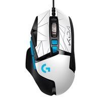 Mouse Gamer Logitech G502 HERO K/DA JOGUE SEM TRÉGUA. O mouse para jogos G502 K/DA foi desenvolvido com a arte oficial K/DA do universo alternativo de