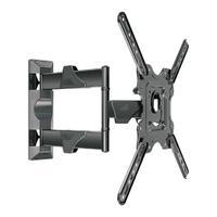 """Suporte Multiarticulado de Parede ELG para TV O suporte multiarticulado de parede P400 ELG é indicado para TVs LED, LCD, PLASMA de 26"""""""" a 55"""""""", telas"""
