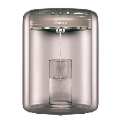 Purificador de água Consul Titanium de alta capacidade de refrigeração Com sistema de alta capacidade de refrigeração e um painel funcional, o Purific
