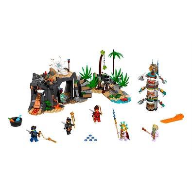 LEGO Ninjago - Aldeia dos Guardiões Os fãs de ninja que amam ação adorarão recriar cenas da série de TV LEGO NINJAGO com o conjunto Vila dos Guardiões