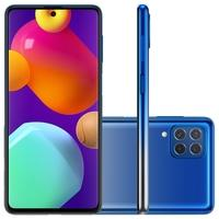Smartphone Samsung Galaxy M62, 128GB, 8GB RAM, Octa-Core, Câmera Quadrupla 64MP + Selfie 32MP, Tela Infinita 6.7   Conheça a Mega Bateria de 7000mAh,