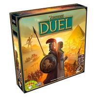 Jogo 7 Wonders Duel, Galápagos - 7WO101 7 Wonders Duel é um jogo de estratégia para duas pessoas baseado no aclamado 7 Wonders, um dos jogos de mesa m