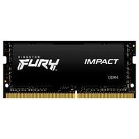 Equipe o seu notebook ou máquina de pequeno formato com a memória Kingston FURY Impact DDR4 SODIMM e minimize o lag do sistema Compatível com os proce