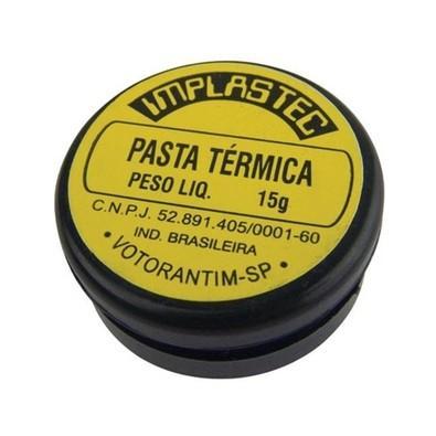 A Pasta Térmica Implastec, foi desenvolvida para permitir um perfeito acoplamento e eliminar o ar entre montagens.