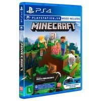 MINECRAFT STARTER COLLECTION PS4 Minecraft é um jogo sobre como colocar blocos e se aventurar. Construa qualquer coisa que você possa imaginar com rec