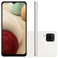 "Smartphone Samsung Galaxy A12, Câmera Quádrupla Traseira de 48MP + 5MP + 2MP + 2MP, Selfie de 8MP, Tela Infinita de 6.5"", 64GB, 4GB RAM, Octa Core, Ba"