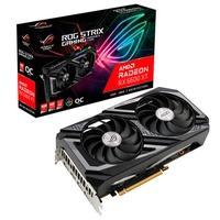 ROG Strix Radeon RX 6600 XT OC Edição 8 GB GDDR6 é um colosso de refrigeração e desempenho de energia O projeto do ventilador com tecnologia axial apr