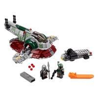 LEGO Star Wars - Nave Estelar de Boba Fett Os fãs de Star Wars: O Mandaloriano podem sair em missões de caça de recompensas e batalhas com esta versão