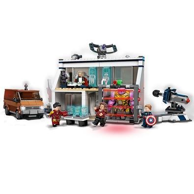 LEGO Super Heroes - O Combate Final dos Vingadores: Endgame Dê vida à ação de filme da Marvel com o conjunto LEGO® Marvel O Combate Final dos Vingador