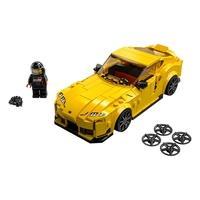 LEGO Speed Champions - Toyota GR Supra O LEGO® Speed Champions Toyota GR Supra (76901) dá às crianças e entusiastas de carros de todas as idades a opo
