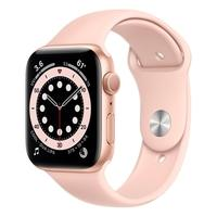 Apple Watch S6 44MM GPS com Case de Alumínio Gold e Sport Band Pink Use o Apple Watch Series 6 para ver o nível de oxigênio do seu sangue com um senso