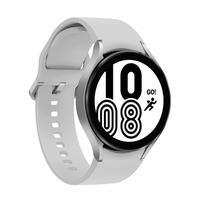 Smartwatch Samsung Galaxy Watch4, Bluetooth, 44mm, Prata  • Novo sistema operacional Wear OS Powered by Samsung • Variedade de Apps, incluindo Apps d