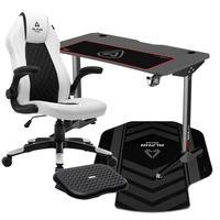 Cadeira Gamer Alpha Gamer Sirius White  Esta cadeira gaming inclui uma almofada integrada para apoio da cabeça, para que possas usufruir de uma utili