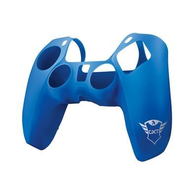 Capa Protetora Trust para Controle PS5, Silicone Lavável, Azul Deixe seu controle do PlayStation 5 com uma maior aderência e um toque personalizado Pe