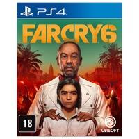 Jogo Far Cry 6 BR, PS4  Antón Castillo assumiu o poder com a promessa de restaurar a glória passada da ilha de Yara e planeja moldar sua visão do par
