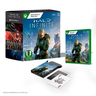 Halo Infinite   Otimizado para XBOX SERIES X   S - A lendária série Halo está de volta com a campanha Master Chief mais ampla de todos os tempos e uma