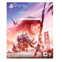 Horizon Forbidden West Edição Especial  Explore terras distantes, enfrente máquinas maiores e mais imponentes, e encontre novas tribos incríveis ao r