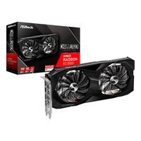 Placa de Vídeo ASRock AMD Radeon RX 6600 CLD 8G, 8GB  Design de ventilador duplo  Dois ventiladores que fornecem forte desempenho de resfriamento e