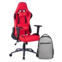 Cadeira Gamer Husky Gaming Racing  Agora você pode ter em casa a exclusiva Cadeira Gamer Husky Racing Red com design moderno e resistente, além de se