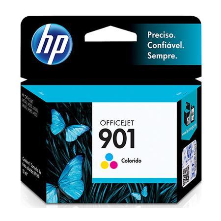 Obtenha cores espetaculares e vibrantes em fotos de grande durabilidade! Desfrute de cores fortes, nítidas e vívidas com o cartucho HP 901 Tricolor. I