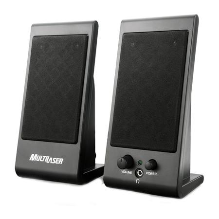 Caixa de som de alta qualidade, para computadores e notebooks, portátil, fácil instalação Plug and Play.