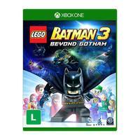 Lego Batman 3 Beyond Gotham A franquia de videogame LEGO Batman campeã de vendas retorna em uma aventura de outro mundo e cheia de ação! Em LEGO Batma
