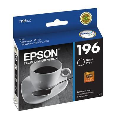Cartucho Epson T196120BR XP401 Preto
