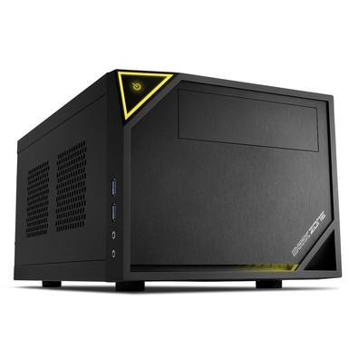 O Shark zone C10 Mini-ITX PC oferece a máxima flexibilidade dentro do menor espaço. Graças ao seu layout sofisticado, o caso de alta qualidade oferece