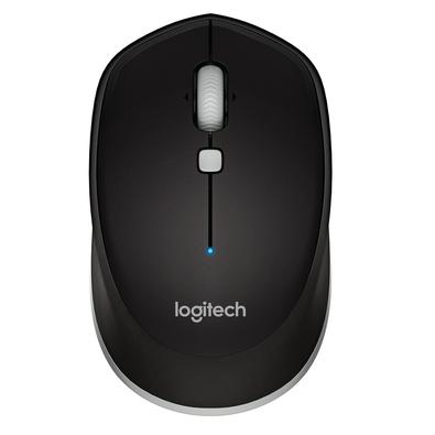 Mouse sem fio Logitech M535 O Logitech® M535 é um mouse compacto com Bluetooth® que te oferece a liberdade de criar em seu computador em qualquer luga