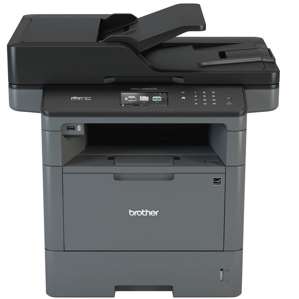 Imagem de Impressora Multifuncional Brother Laser Mono MFC-L5902DW