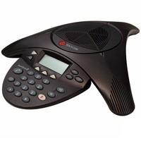 Telefone Polycom de Conferência SoundStation2 Expansível (analógico) com Display 2200-16200-014