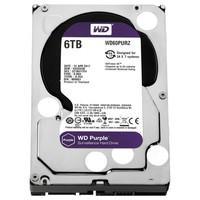 HD WD Purple Surveillance, 6TB, 3.5´, SATA - WD60PURZ