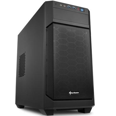 Quer se trate de um computador de escritório sofisticado, multimídia compacta ou PC para jogos: o V1000 da Sharkoon oferece soluções versáteis para to