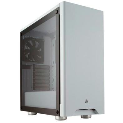O CORSAIR Carbide Series 275R é um Case compacto de torre média que combina com o design minimalista e uma bela janela de vidro temperado com um layou