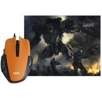 Combo de mouse e teclado, ideal para ter mais ação e precisão na hora de jogar.