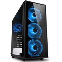 Instale o seu hardware em um gabinete com vidro temperado e cores harmônicas usando a torre midi ATX TG4: com painel frontal e lateral transparentes e
