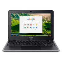 "Chromebook Acer C733-C607 Intel Celeron N4020, 4GB RAM, 32GB eMMC, Tela 11.6"", Chrome OS."