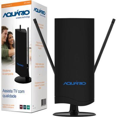 A Antena Interna de TV Digital 4 em 1 - Aquário, possui design inovador e exclusivo. Seu diferencial 4 em 1, foi desenvolvida com alta tecnologia, gar