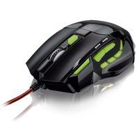 Mouse Óptico Xgamer Multilaser Fire Buttonusb 2400dpi- Mo208..