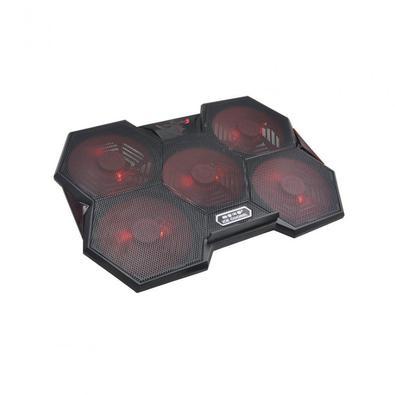 O Cooler Colmeia com LED Gamer garante maior estabilidade e confiança ao apoiar seu notebook. Ele ainda dispõe de entradas USB e ventoinhas para maior