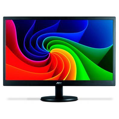Com o Monitor LED AOC trabalhar na frente do computador e as horas de entretenimento ficaram muito melhores! Graças ao formato clássico e qualidade má