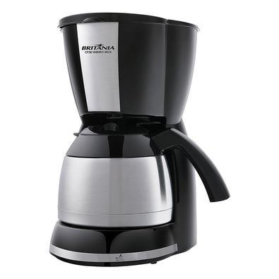 •  A Cafeteira Elétrica Britânia CP38 Thermo Inox é ideal para aqueles que adoram tomar café em todos os momentos do dia!•  Sua jarra é térmica em aço