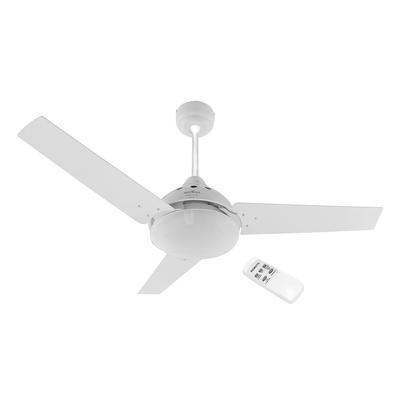 • O Ventilador de Teto Britânia Cancun BVT02B é 3 em 1: funciona como ventilador, exaustor e luminária. Tudo que você precisa para ter um ambiente agr
