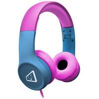 O Headphone ELG Infantil Melody, Com Limitador De Volume, Rosa/Azul diverte e garante a segurança auditiva das crianças. Tecnologia de limitação de vo